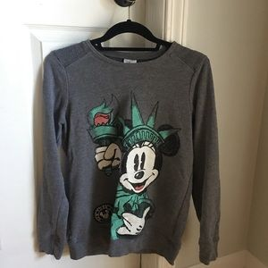 Disney Minnie Mouse NYC Statue of Liberty sweater